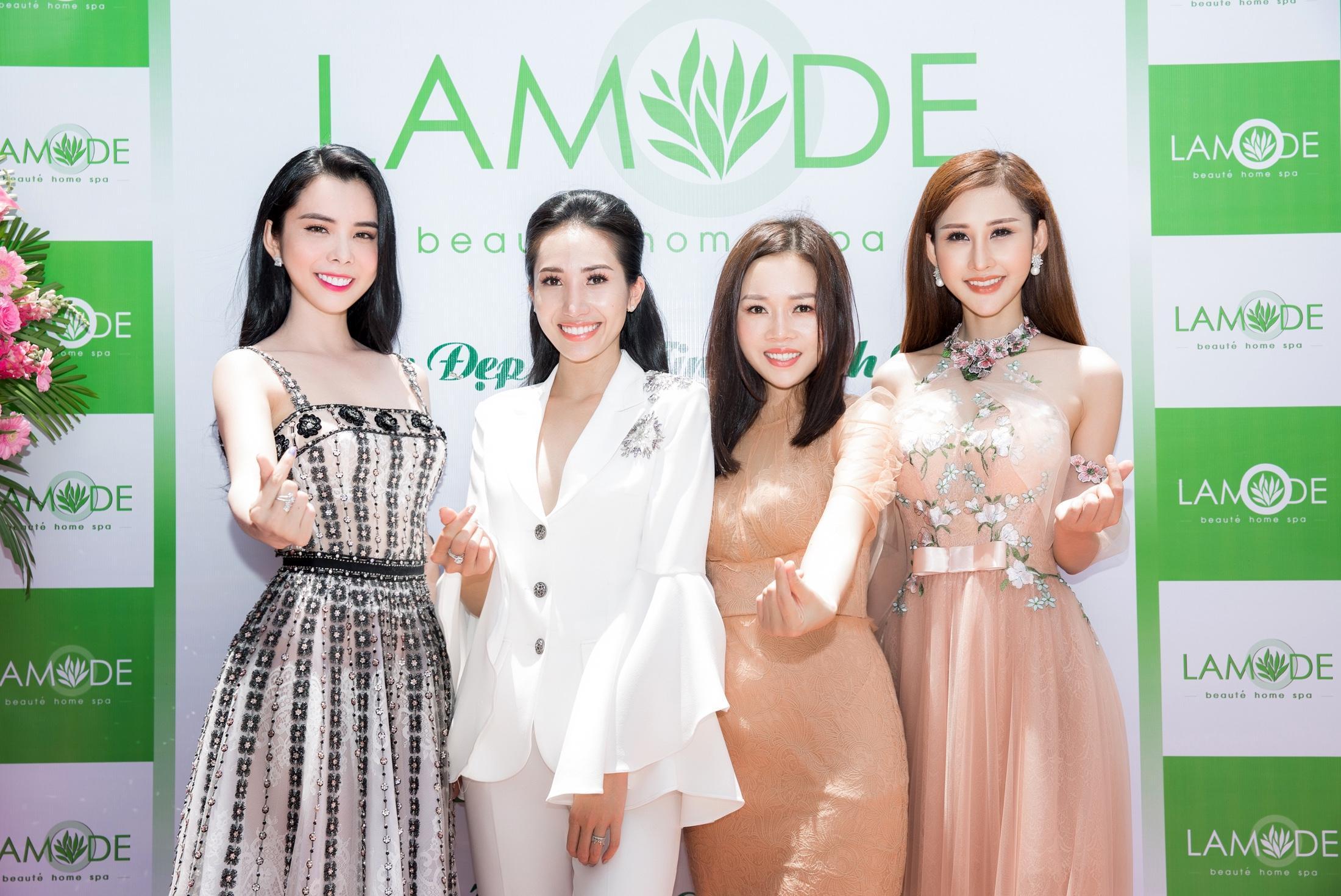 CEO Sarah Tú mừng khai trương Lamode Spa
